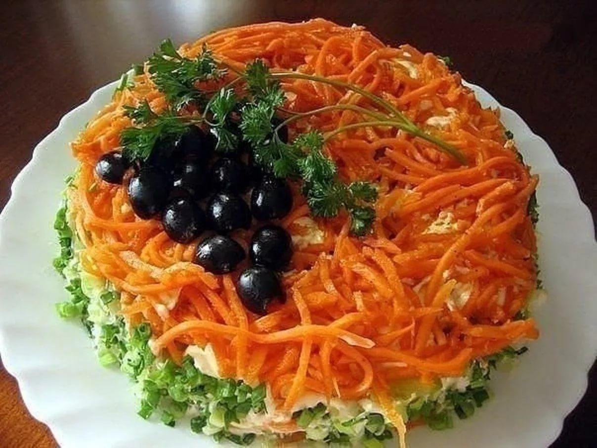 Салат «Лисичкина шубка»