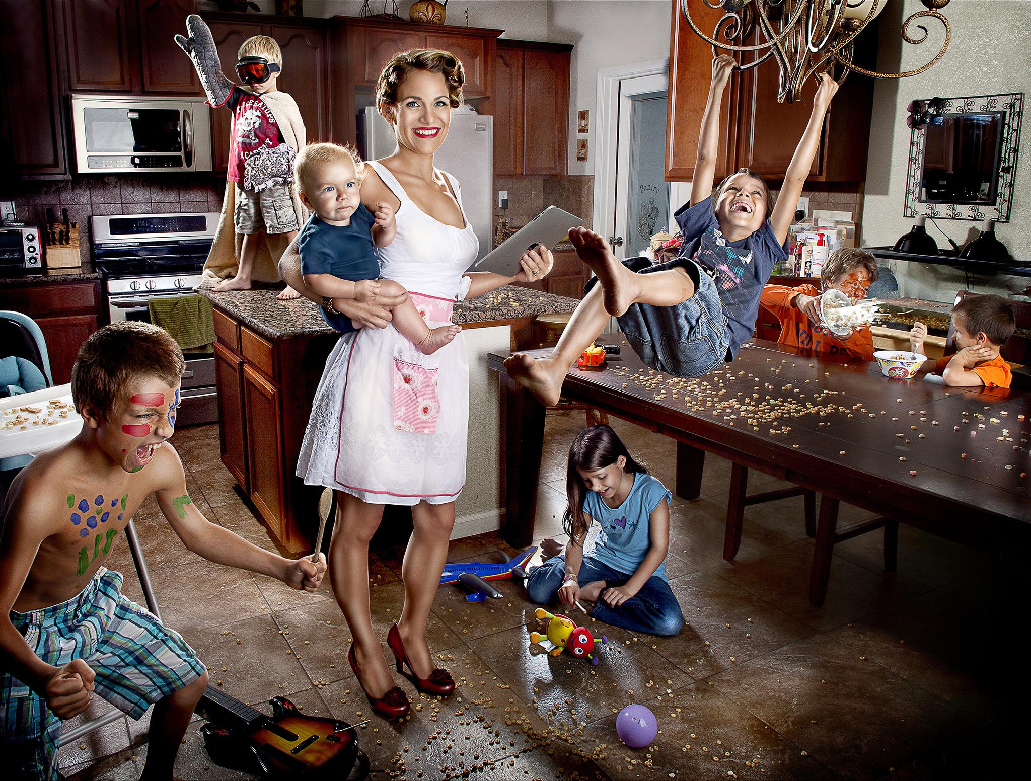 Супер мамочки или бизнес с ребенком подмышкой!
